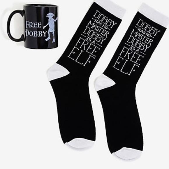 c3ad8530dd9d Warner Bros. Underwear & Socks | Harry Potter Dobby Mug Sock Gift ...